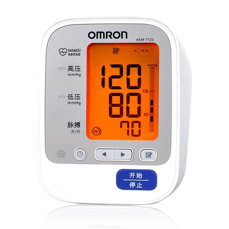 欧姆龙hem-7133血压计